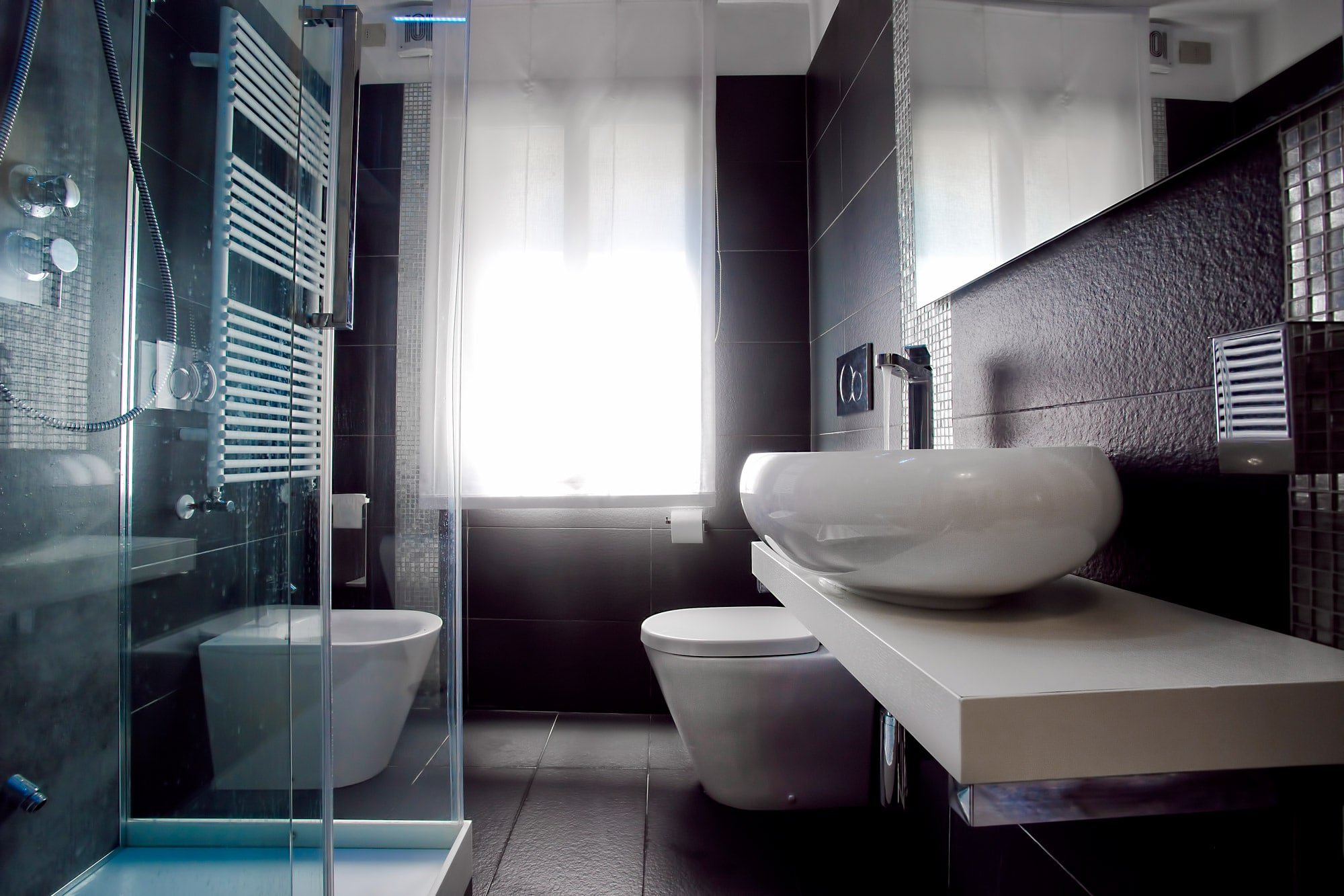 Luxury Bathroom Albergo Marin